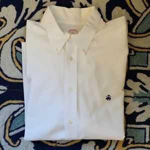 Brook Brothers White XL Original Polo Button Down